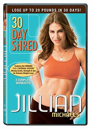 jillian michaels before and after 30 day shred