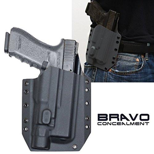 Bravo Concealment: Glock 17 22 31 X300 U-B OWB BCA Light Bearing Gun Holster