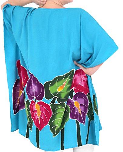 La Leela taille plus les femmes robe design chaise longue Beachwear bikini sundress couvrir