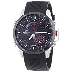 ERA-200B-1AVER Casio Edifice men's watch black resin strap