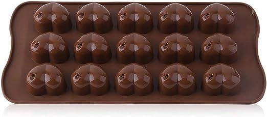 Silicona Ice-Cube Chocolate Fondant Cake Jelly Bandeja Pan Loving ...