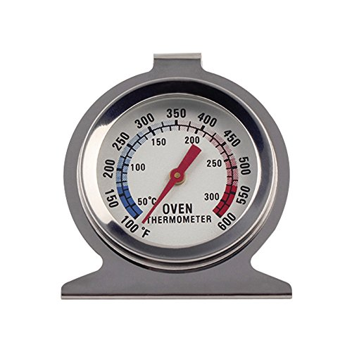 (Artlalic) Classic Series Dial Large Oven Thermometer, 100 to 600 degrees F Temperature Range