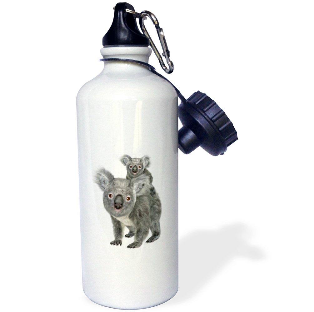 3D Rose 2 wb/_239392/_2 Flip Straw Water Bottle 21 oz