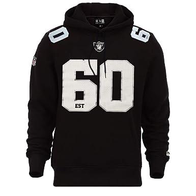 d54d66dd New Era Oakland Raiders Hoody NFL Established Number: Amazon.co.uk ...