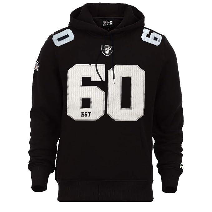 A NEW ERA Era Oakland Raiders Hoody NFL Established Number  Amazon.es  Ropa  y accesorios 62609462eb3