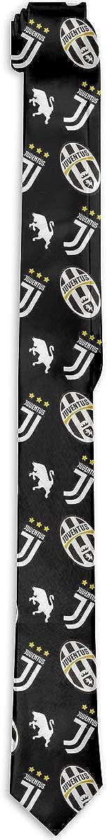 Offvgyhj Juventus FC Uomo Classico Formale Elegante Uomo Cravatta Di Cravatta Larghezza Cm 8