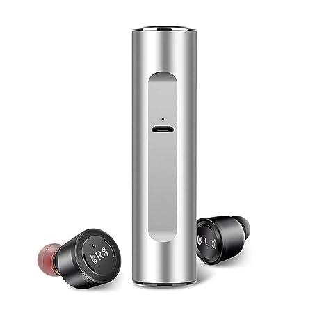 Teepao S5 Mini Auriculares BT Inalámbricos, Wireless Headphones BT 5.0 con Estuche de Carga,