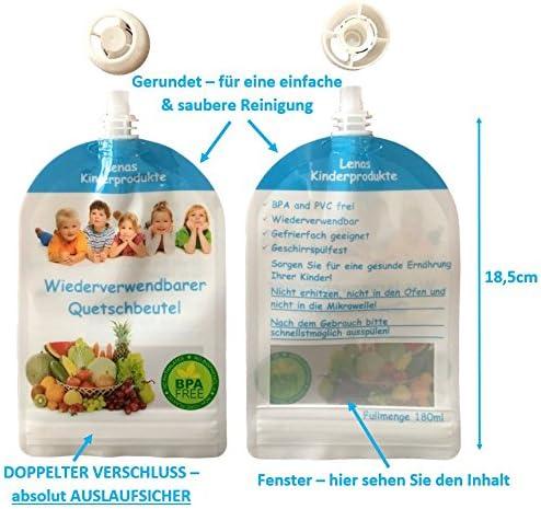 Reutilizables quetschb eutel para rellenar Baby