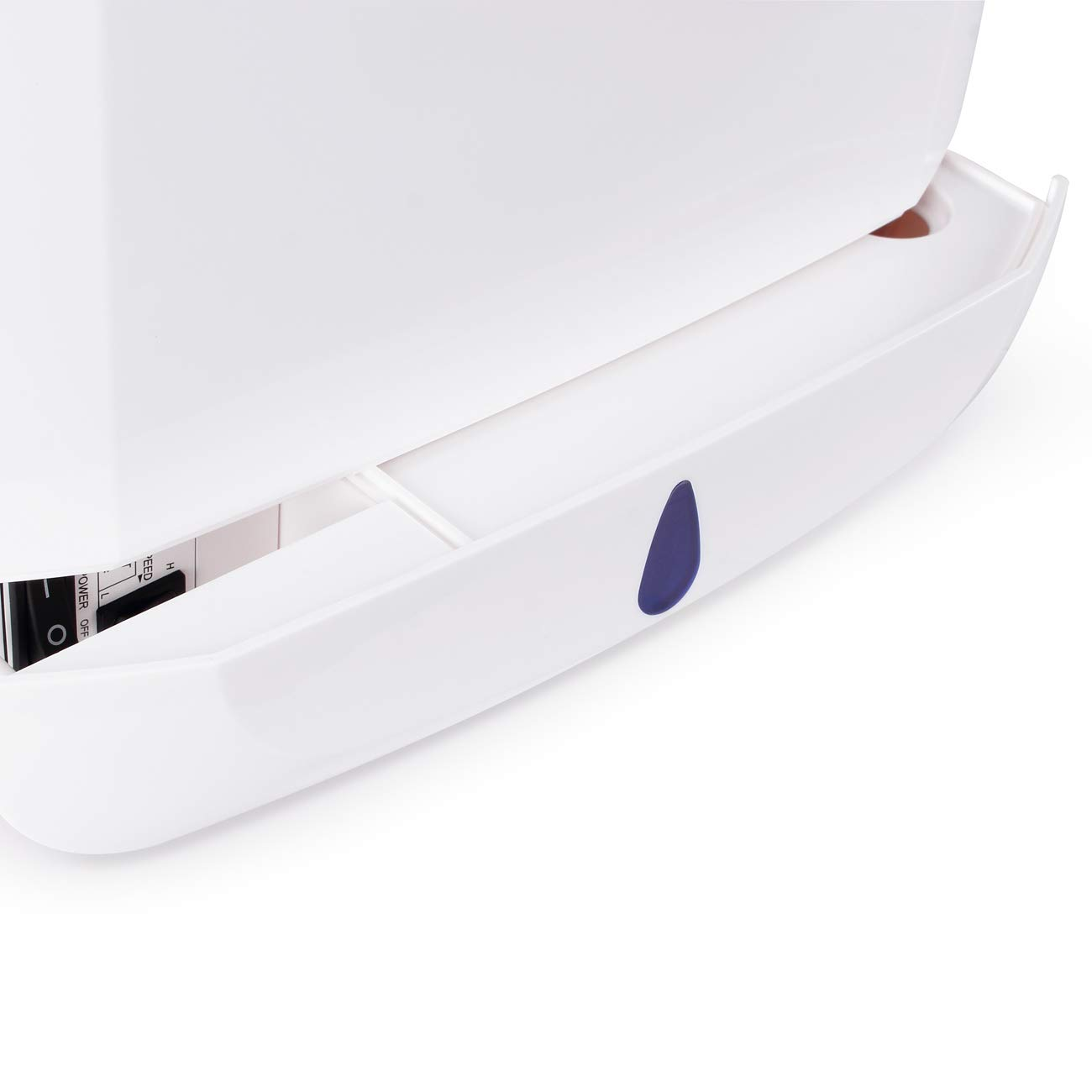 White Brushless Motor 1650W ABS Material Commercial Bathroom and Kitchen ARKSEN Electric Hand Dryer 100m//s