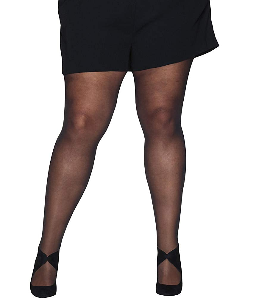 Hanes Silk Reflections Women's Plus Size Curves Seasonless Tights HSP006