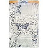 Melange Tissue Wrap by Tim Holtz Idea-ology, 1-12 Inch Wide Roll, 15 Feet per Roll, Multicolored, TH93042