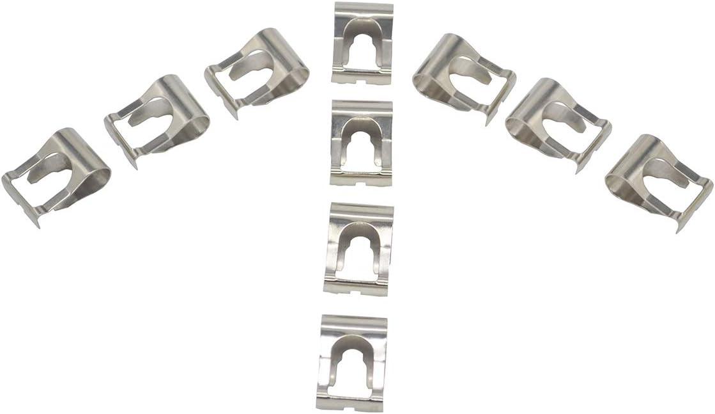 ZEALfix 10Pcs Windscreen Wiper Linkage Rod Arm Link Mechanism Repair Clip Kit