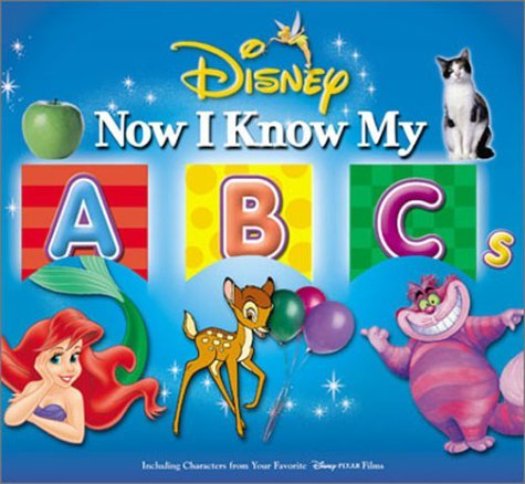 Read Online By Disney Book Group Disney's Now I Know My ABC's [Board book] pdf epub