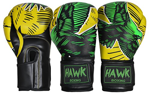 Hawk Boxing Boxing Gloves Fight Fighting Gloves Sparring Gloves Punch Bag Title Training Gloves Bag Gloves Mitts MMA Muay thai Kick Boxing Gloves TOP QUALITY!!!