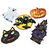 Halloween Light Up Ghost LED Clip Hanging Decoration Prop Spooky Scary Party