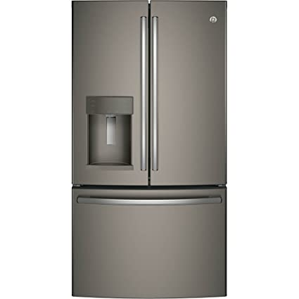 GE GFD28GMLES 36u0026quot; Inch French Door Refrigerator With 27.8 Cu. Ft.  Total Capacity