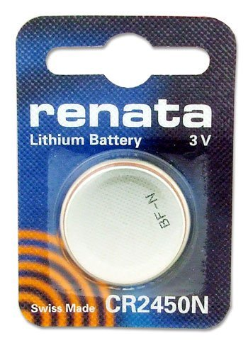 Coin Cell Battery 3V 24.5 x 5.0mm 540mAh (10 pieces) - 5mm Coin