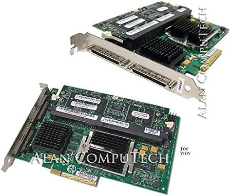 Lsi Megaraid Scsi 320 2e Storage Controller Raid 2 Channel Ultra320 Scsi 320 Mbps Raid 0 1 5 10 50 Pci Express X8 Amazon Co Uk Computers Accessories