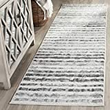 Safavieh Adirondack Collection ADR126N Ivory and Charcoal Modern Runner (2'6″ x 8′) Review