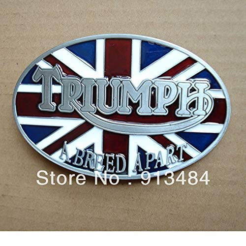 Buckes - Triumph Belt Buckle with Pewter Finish JF-B016 Suitable for 4cm wideth Belt with continous Stock