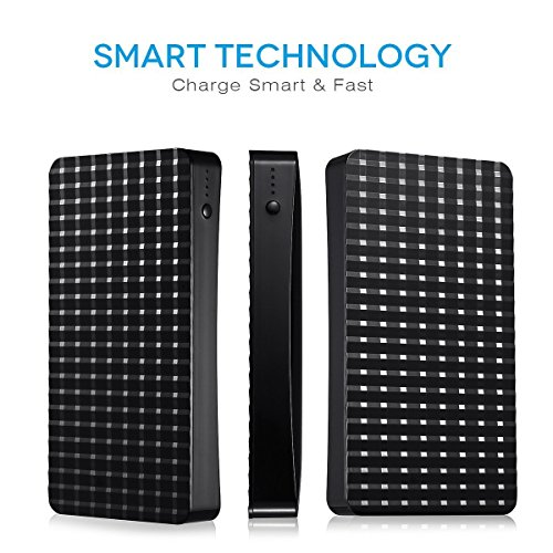 Poweradd Pilot P3 huge Capacity 15000mAh lightweight Charger electrica Bank External Battery by way of tough double USB 34A effects for iPhone iPad Samsung Galaxy and a great dea External Battery Packs