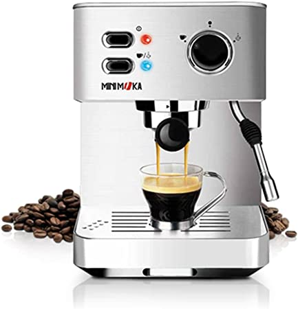 Minimoka CM-1682 - Cafetera Express (15 bares, manual) : Amazon.es: Hogar
