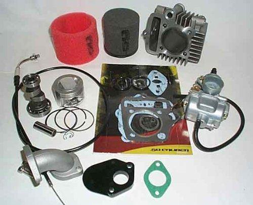 (88cc Stage 2 Big Bore Kit - Fits 1992-1999 Honda Z50 & 2000+ Honda XR50, CRF50 Models)