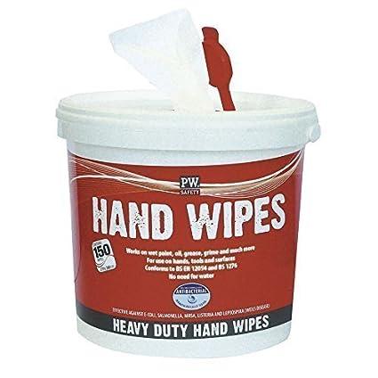 De la mano de bayetas - industrial de paños de limpieza - 150 toallas - EN12054