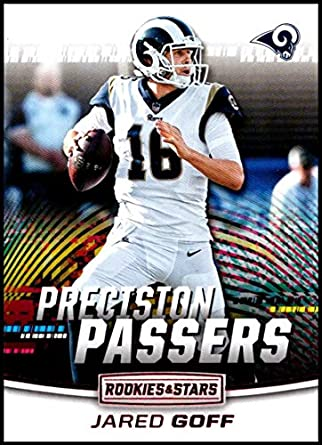 bb28e62ed 2018 Panini Rookies and Stars Precision Passers  5 Jared Goff NM-MT Los  Angeles