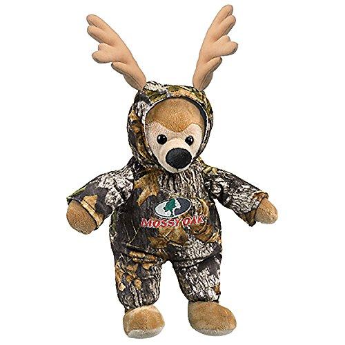 [CamoWild Mossy Oak Break-Up Camo'd Up TM Deer with Mossy Oak Logo (19-Inch)] (Mossy Deer Camo)