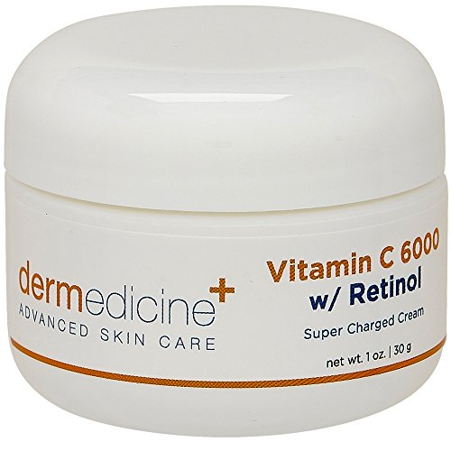 Dermedicine Vitamin C 6000 with Retinol Super Charged Cream