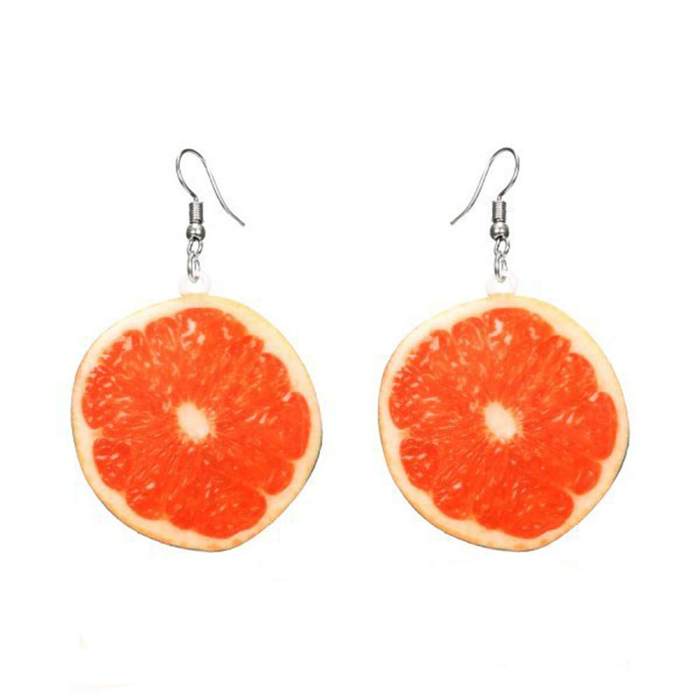 Clearance! Hot Sale! ❤ Beautiful Multicolor Pendant Earrings Fruit Fashion Design Personalized Under 5 Dollars Valentine's Day Gifts for Girlfriend 2019 New
