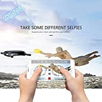 SZMWL JJRC H37 ELFIE Pocket Selfie Drone WIFI FPV Altitude Hold Mode Portable RC Quacopter With 0.3MP Camera RTF Helicopter- Black