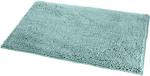 - AmazonBasics Non-Slip Microfiber Shag Bath Rug, 21