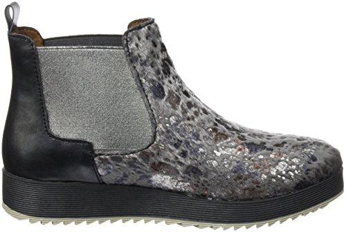 Laufsteg München Hw160702 P, Zapatillas de Estar por Casa para Mujer Gris - Grau (Fantasy Fell Grey)