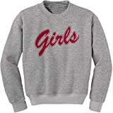 Crew Monica Rachel Shirt That Says Girls (Red) Adult Small Heather Grey