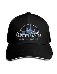 TopSeller Unisex Walter White Meth Labs Adjustable Peaked Baseball Caps Hats