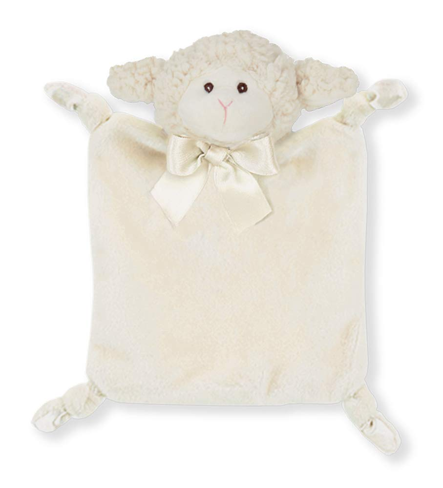 Small Lamb Stuffed Animal Lovey Security Blanket Bearington Baby Wee Lamby 8 x 7