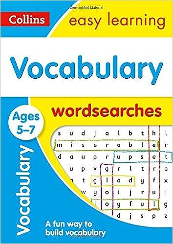 Vocabulary Word Searches Ages 5-7 Descargar PDF Ahora