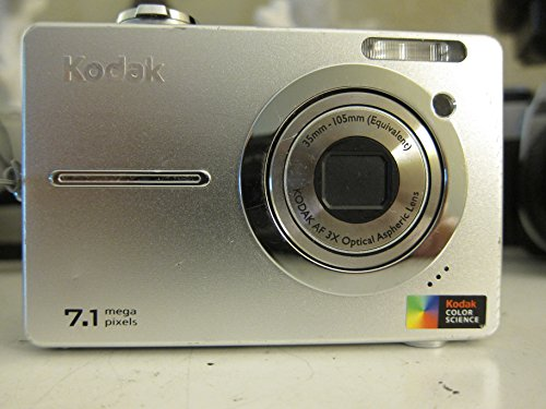 - Kodak EASYSHARE C763 - Digital camera - compact - 7.1 Mpix - optical zoom: 3 x - supported memory: MMC, SD