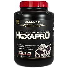 ALLMAX Nutrition Hexapro Ultra-Premium Protein MCT Coconut Oil Cookies Cream 5 5 lbs 2 5 kg