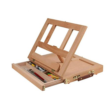 Caballete de madera ajustable Caballete Aceite Caballetes Mesa de ...
