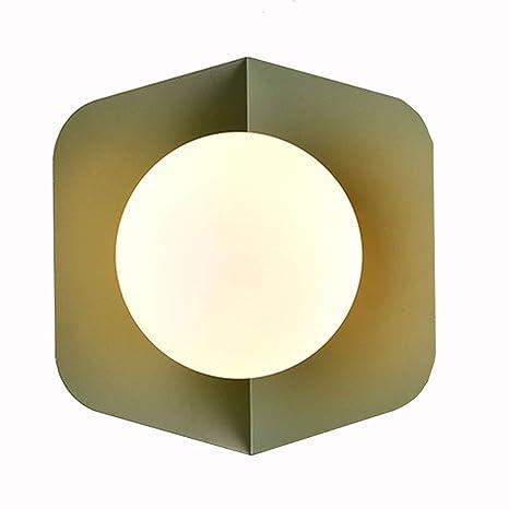 Amazon.com: Lámpara de pared ZH para dormitorio, mesita de ...