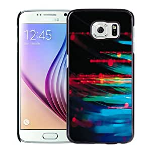 Beautiful Unique Designed Cover Case For Samsung Galaxy S6 With Abstract Crystal Black Phone Case