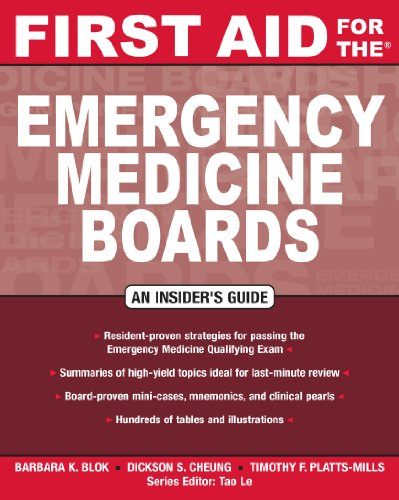 First Aid for the Emergency Medicine Boards (1st 2009) [Blok, Cheung & Platts-Mills]
