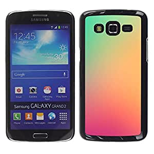 MOBMART Carcasa Funda Case Cover Armor Shell PARA Samsung Galaxy Grand 2 - Unique Light Pink Shades