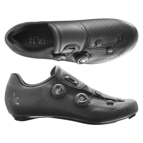 (fizik/フィジーク)(自転車用シューズ/靴用品)R1B UOMO(メンズ)BOA ブラック 37.5(R1MBC 1010 375)   B01N979675