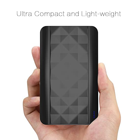 711a2f55f30a75 Image Unavailable. Image not available for. Color: [Black Limited] Kans Ultra  Compact 4000mAh Portable Charger External Battery Power Bank