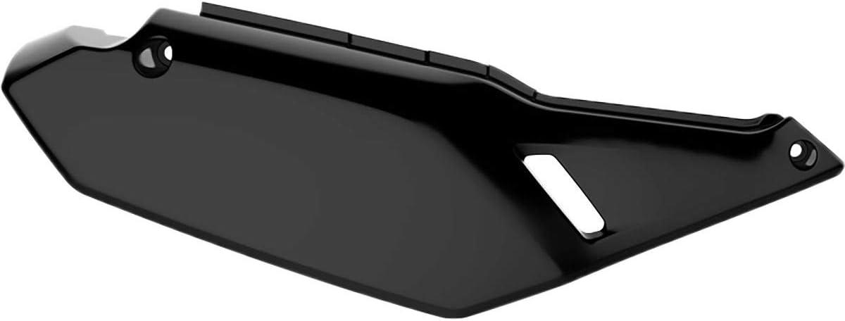 Black Right Side for 08-18 Kawasaki KLR650 Polisport Side Panel Set
