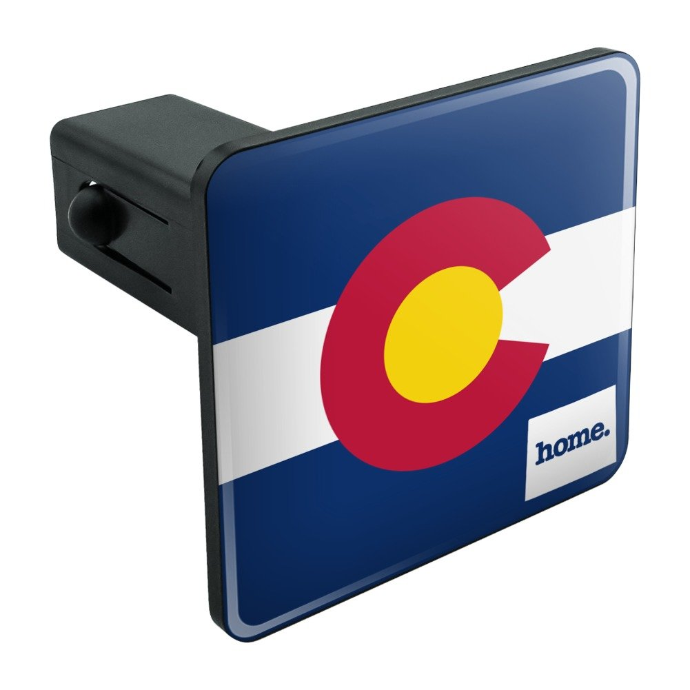 Colorado CO Home State Flag Officially Licensed Tow Trailer Hitch Cover Plug Insert 2' Graphics and More